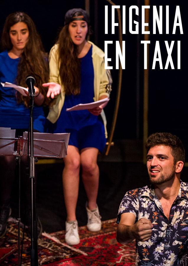 Ifigenia en Taxi - Cartel